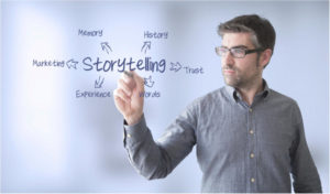 good business planning take story telling