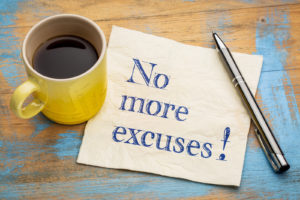 accountability means no more excuses